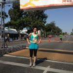 This is me after half marathon #2